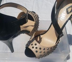Rock & Republic studded heels. Never worn!